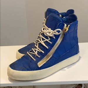 Giuseppe Zannoti high top sneakers